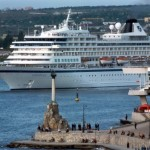 Increasing of cruise tourism in Crimea