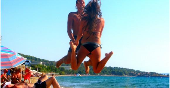 """На пляжі в Греції. Фото """"Смак подорожника"""""""