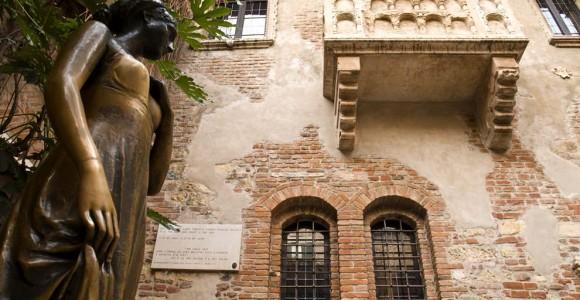 Балкон Джульєтти, Верона