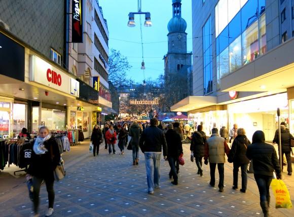 """Во время рождественских распродаж в Дортмунде. Фото """"Вкус подорожника"""""""