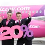 Акція Wizz Air: мінус 20% на всі рейси для всіх, квитки від 392 гривень