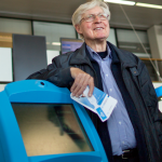 Jan Mul's record: more than a 1000 flights without ever leaving the airport