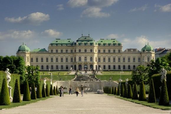 Палац-музей Бельведер у Відні