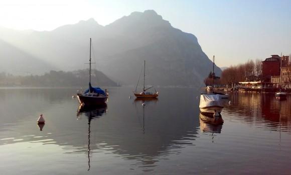 Яхти на озері Комо
