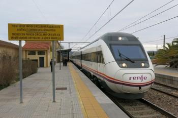 Платформа вокзалу Бенікарло-Пеніскола