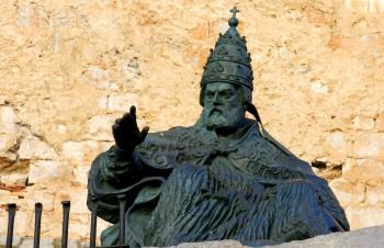 Пам'ятник Папі Луні в Пенісколі