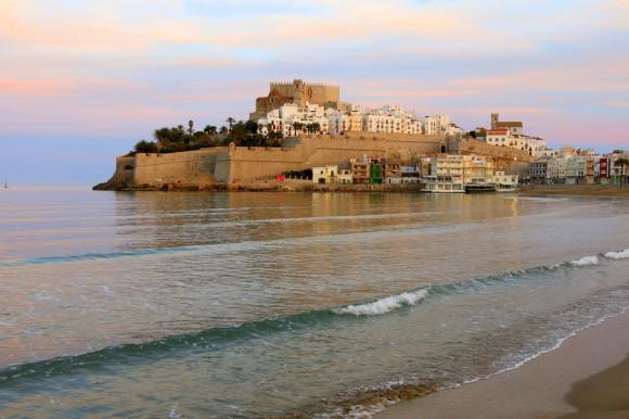 Замок і море в Пенісколі
