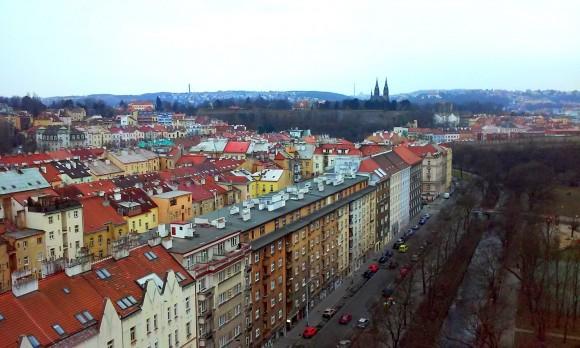Прага. Дорога до старого замку