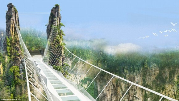 China glass bridge Zhangjiajie National Forest Park (3)
