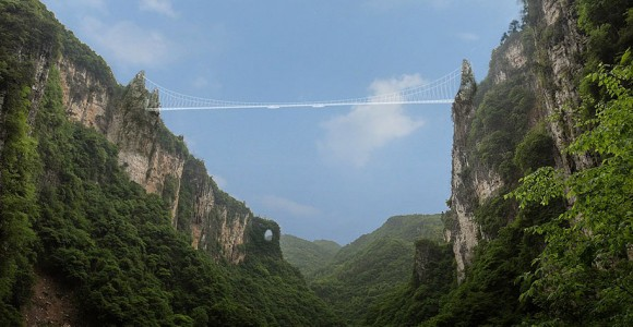 China glass bridge Zhangjiajie National Forest Park (5)