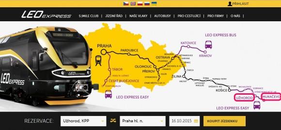 Leo Express_map