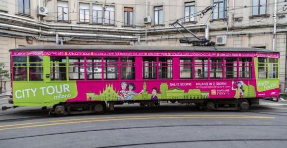 Екскурсійний трамвай carelli в Мілані