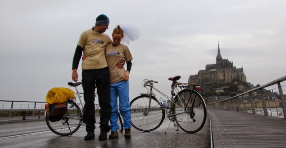 North France by bicycle - just married (22)