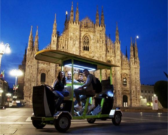 TheGustibus near the Milan Cathedral - Duomo