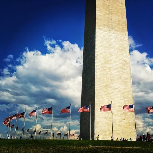 Washington District of Columbia-US flags-byOlgaAxmetova
