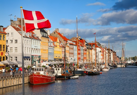 Копенгаген, столиця Данії