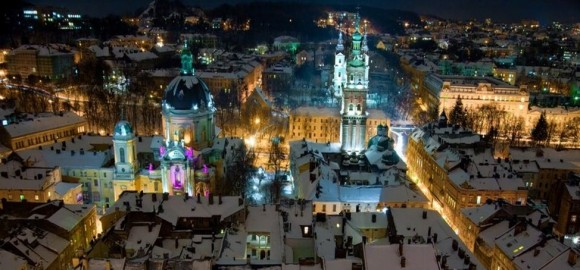 Lviv winter