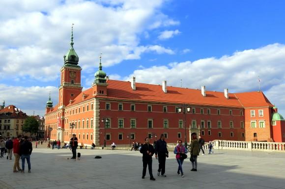 """Королівський замок у Варшаві. Фото """"Смак подорожника"""""""