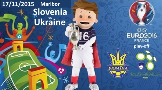 Ukraine Slovenia football