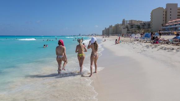 Канкун. Пляж