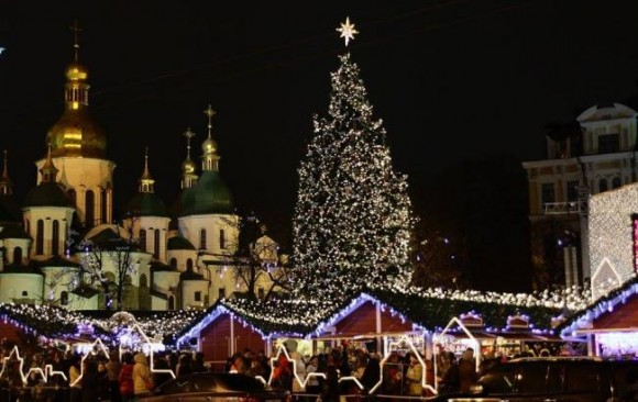 ялинка київ 2016 - christmass tree kiev kyiv