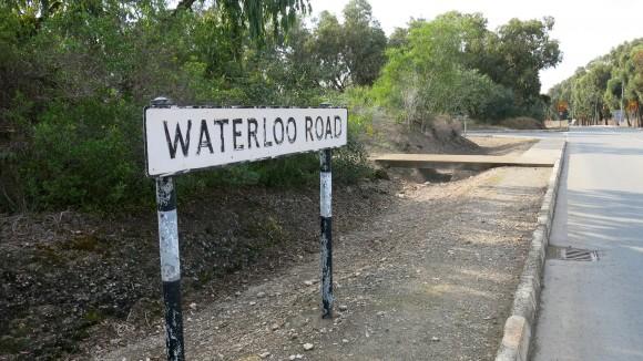 Назви вулиць у Декелії - показово британські