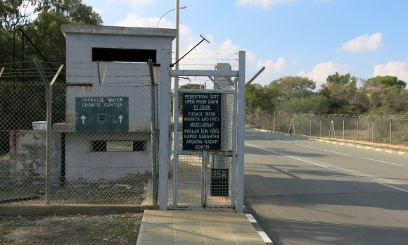 Dekelia SBA gate - Cyprus (3)