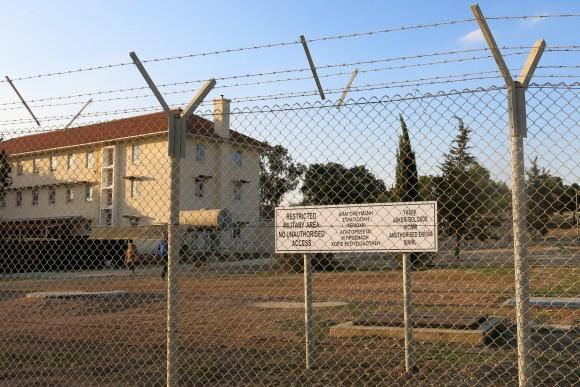 Dekelia SBA sign - Cyprus (7)