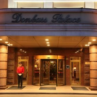 """""""Football, business, night life"""". Booking.com recommends Donbass hotels to the tourists without any mentions about the war"""