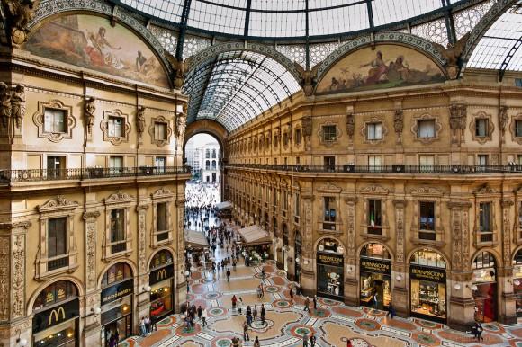 Галерея Витторио Эмануэле II, Милан