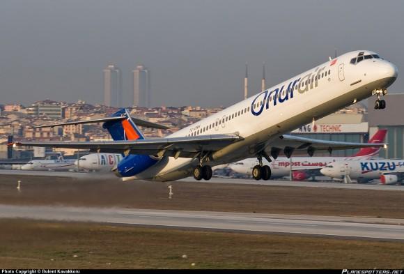 Onur Air plane