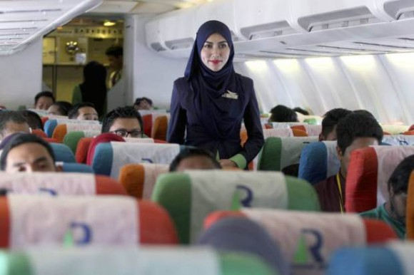 Rayani Air stewardess 2