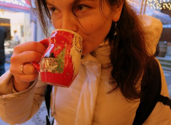 Weihnachtsmarkt Deutschland - Christmass market Germany - Gluweine