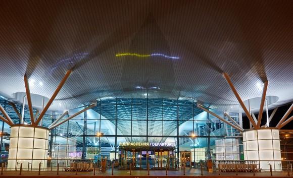 Boryspil airport departures terminal D