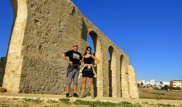 Larnaca Solt Lake - walk around - aqueduct (1)