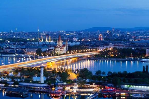 Відень - місто шарму й краси на Дунаї