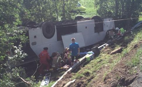 аварія українського автобуса з туристами в Норвегії