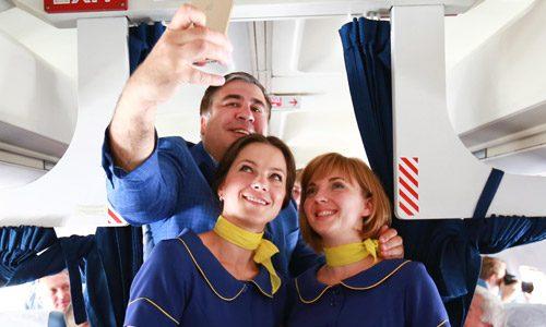 Bravo Avia - Saakashvili