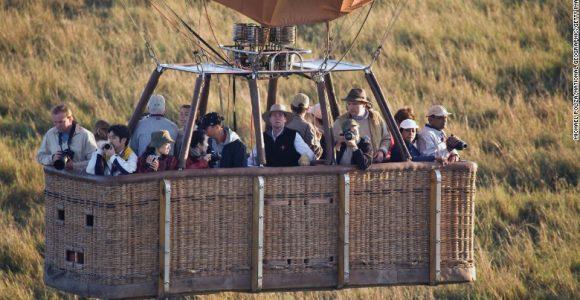 baloon safari africa