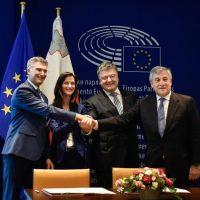 У Страсбурзі урочисто підписали рішення про безвізовий режим для громадян України, який запрацює з 11 червня