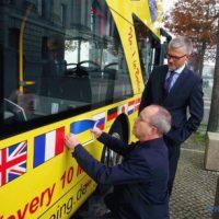 Екскурсійні автобуси в Берліні тепер мають гід українською мовою