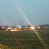 """Пасажири рейсом з Анталії в """"Жулянах"""" евакуювалися з літака по надувних трапах"""