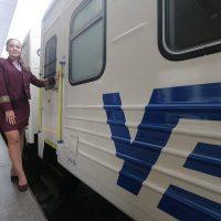 """Із Києва вирушив у перший рейс поїзд """"чотирьох столиць"""". Недешево"""
